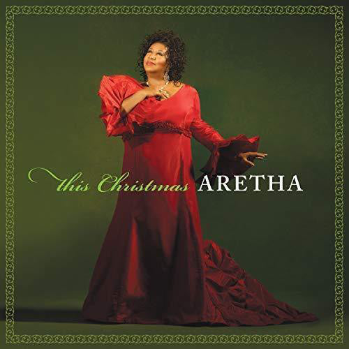Aretha Franklin - This Christmas Lp - RED VINYL