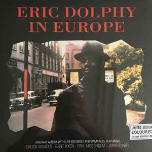 Eric Dolphy ‎- In Europe