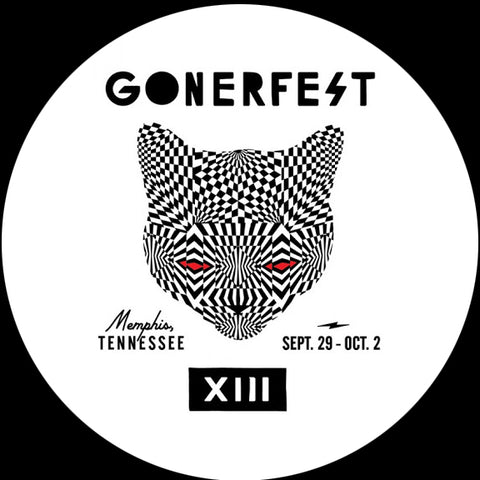 Gonerfest 13 Cat Design Slipmat