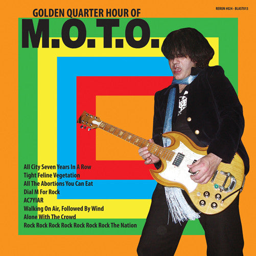 M.O.T.O. - Golden Quarter Hour Of M.O.T.O. 7""