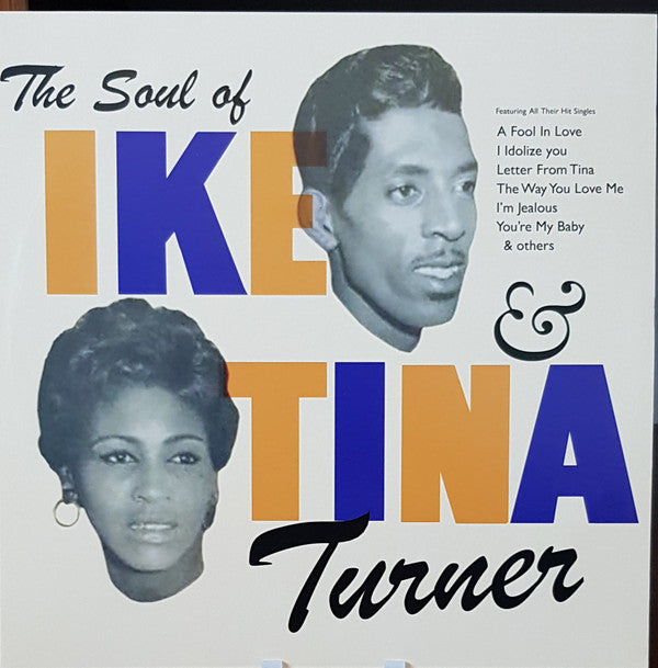 Ike & Tina Turner ‎- The Soul Of Ike & Tina Turner