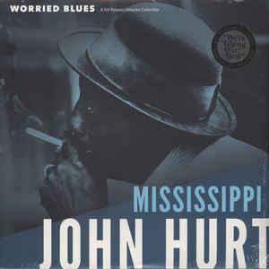 Mississippi John Hurt - Worried Blues Lp [Fat Possum] 767981159812