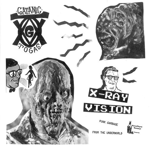Satanic Togas - X Ray Vision LP
