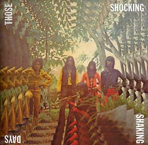 V/A Those Shocking, Shaking Days: Indonesian Hard, Psychedelic, Progressive Rock and Funk: 1970-1978