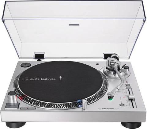Audio Technica - AT-Lp120xusb Turntable with USB - Silver