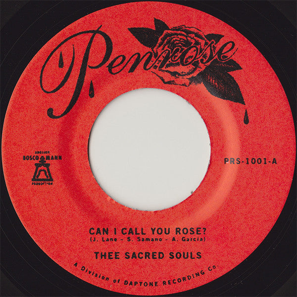 Thee Sacred Souls ‎- Can I Call You Rose?