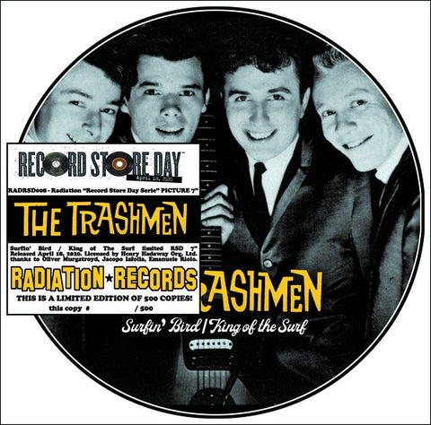 Trashmen - Surfin' Bird b/w King Of The Surf