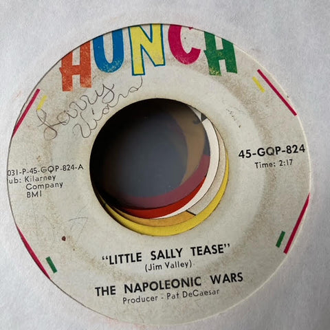 The Napoleonic Wars - Little Sally Tease (Used 45)