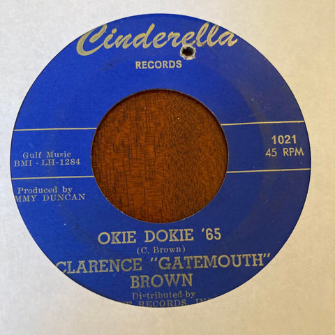 "Clarence ""Gatemouth"" Brown - The Cricket (Used 45)"