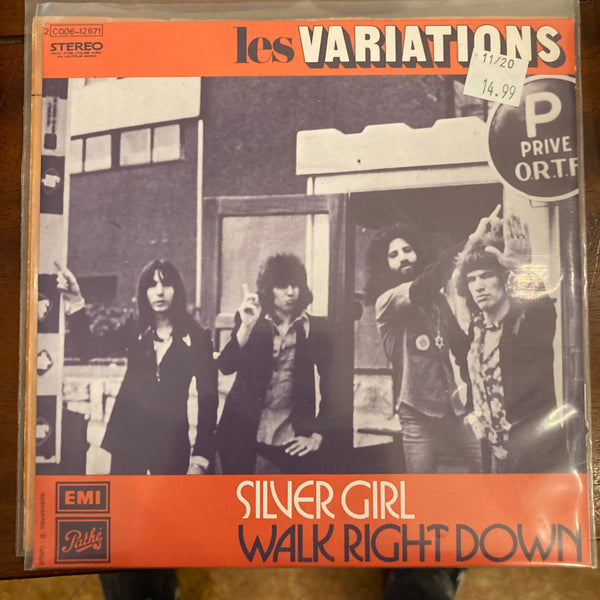 Les Variations - Silver Girl (Used 45)