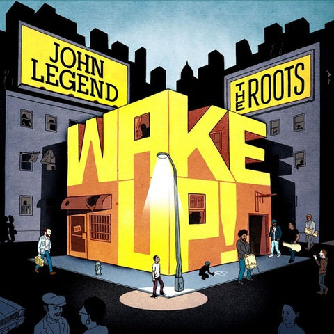 John Legend With The Roots - Wake Up! ORANGE VINYL