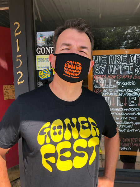 Goner Records Face Mask
