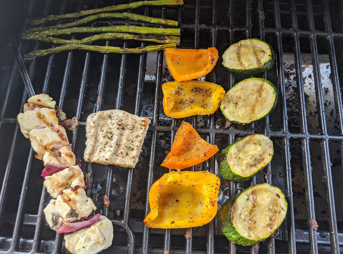 Summer Recipe Series - Grilled Halloumi