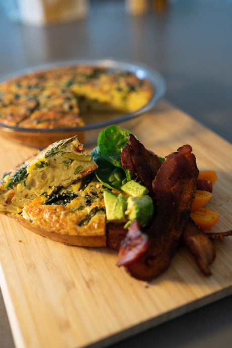 Crustless Keto Quiche