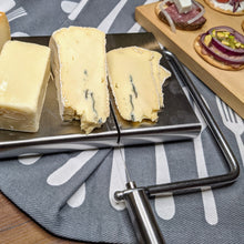 Load image into Gallery viewer, Countertop Wire Cheese Slicer with Cheeseboard - Lavish Cheese
