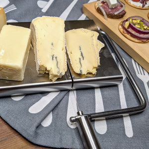 Countertop Wire Cheese Slicer with Cheeseboard - Lavish Cheese