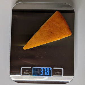 Digital Cheese Scale with cheese being weighed - Lavish Cheese