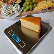 Load image into Gallery viewer, Digital Cheese and Food Scale with Cheese being Weighed - Lavish Cheese