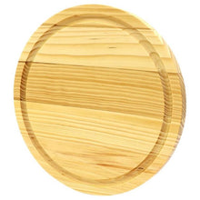 Load image into Gallery viewer, Cheese & Charcuterie Serving Board - Round 8.5 inch Diameter Wooden Board - Lavish Cheese
