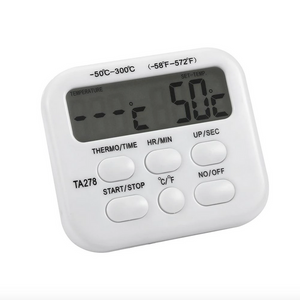 Digital Cheese and Food Thermometer with Timer - Lavish Cheese