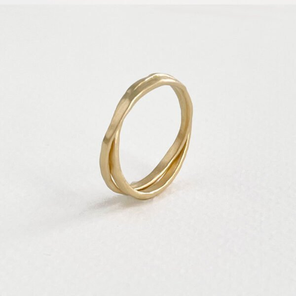 Ring Sophie Twin in Gold