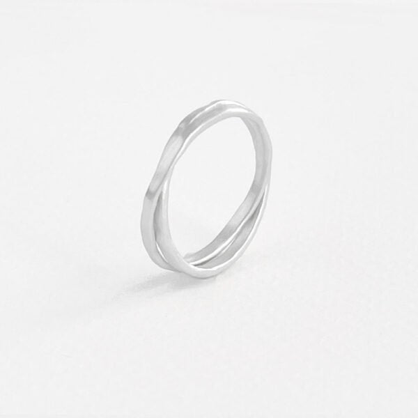 Ring Sophie Twin in Silber
