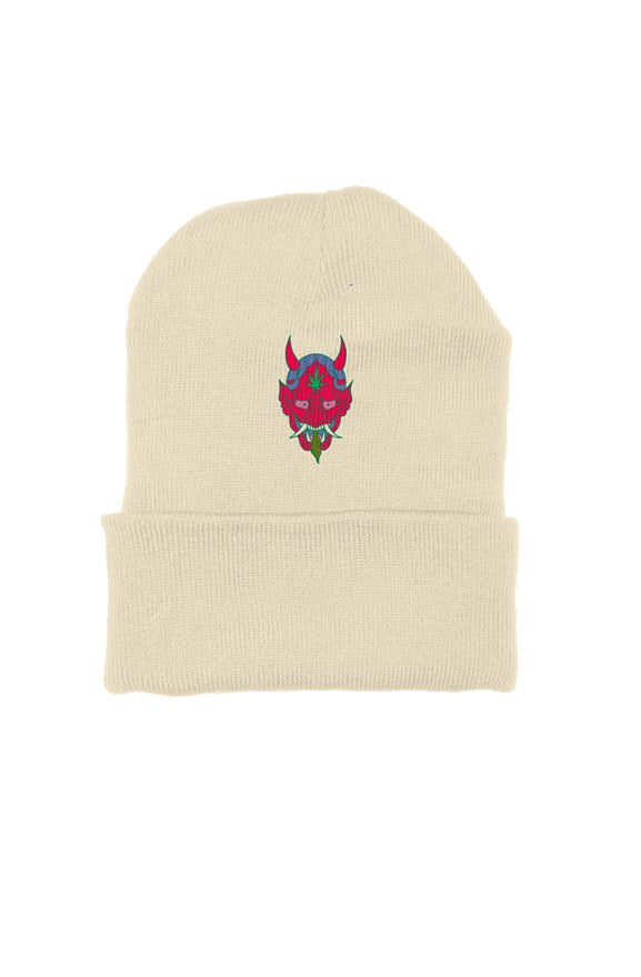 Satan Beanie - Embroidered