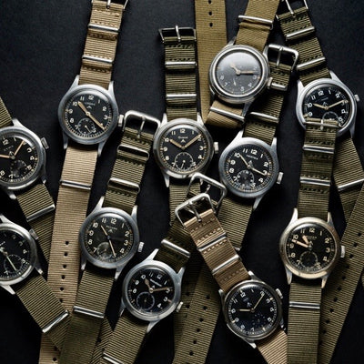 The Dirty Dozen ( The history of the WW2 British Army Watches)