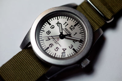 A Seiko 'Military' Watch for Japanese Young Adult