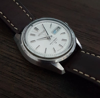 The Only Mechanical Alarm Watch by Seiko