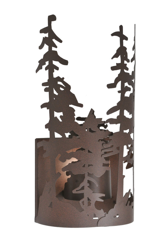 11 Inch W Tall Pines Wall Sconce