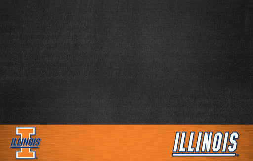 University of Illinois Grill Mat 26x42