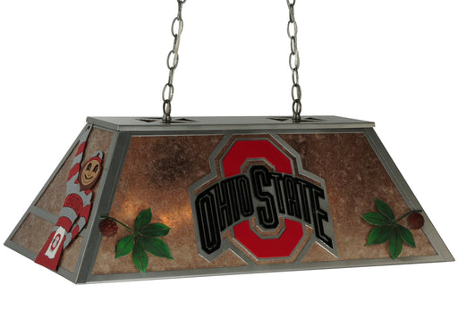 33 Inch L Personalized Ohio State Oblong Pendant
