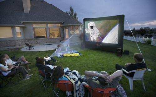 CineBox Home 12 x 7 Backyard Theater System