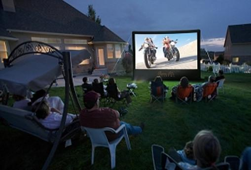 CineBox Home 9 x 5 Backyard Theater System HD 1080