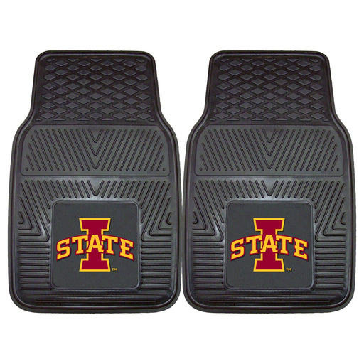 Iowa State 2-pc Vinyl Car Mat Set