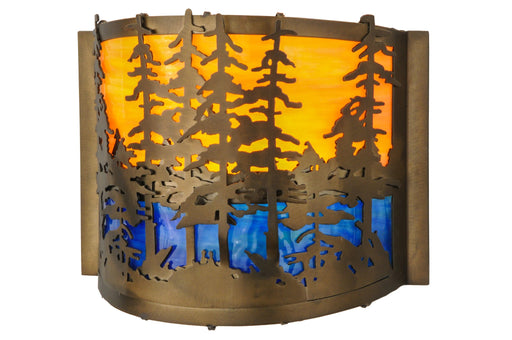 11.5 Inch W Tall Pines Wall Sconce