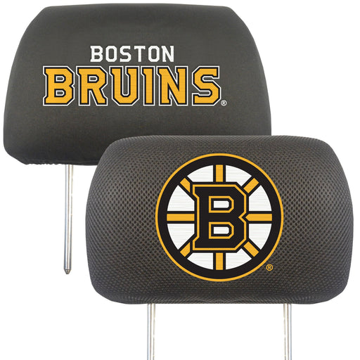 Boston Bruins Head Rest Cover 10x13