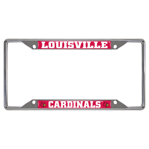 University of Louisville License Plate Frame 6.25x12.25