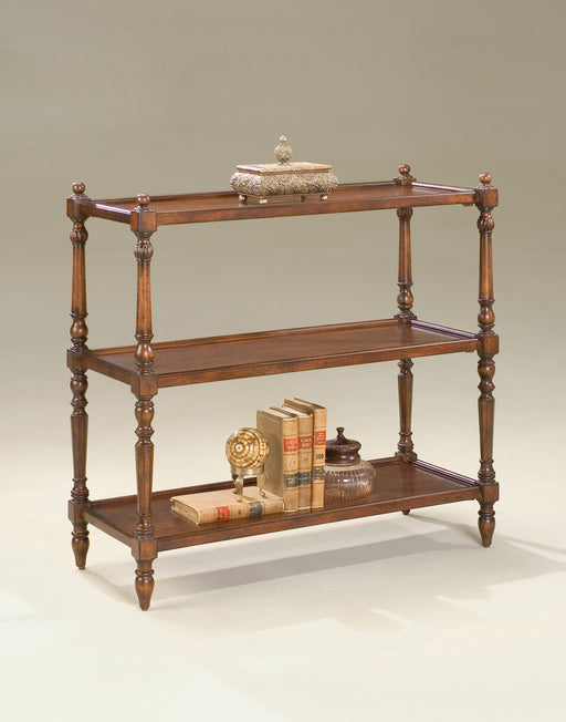 BUTLER 1530024 3-TIER CONSOLE TABLE - Plantation Cherry