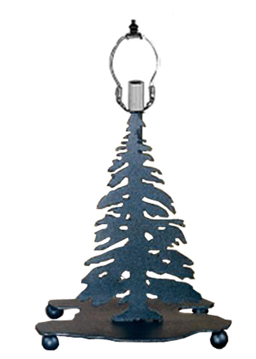 10 Inch Mini Tree Base Black