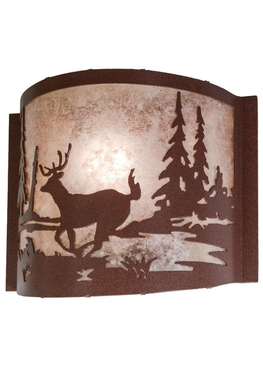 12 Inch W Deer Creek Wall Sconce