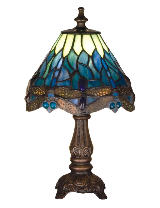 11.5 Inch H Tiffany Hanginghead Dragonfly Mini Lamp