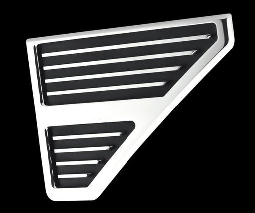 All Sales Hood Vent Grille\s Pair -Polished