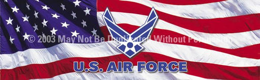Window Graphic - 16x54 U.S. Air Force Logo