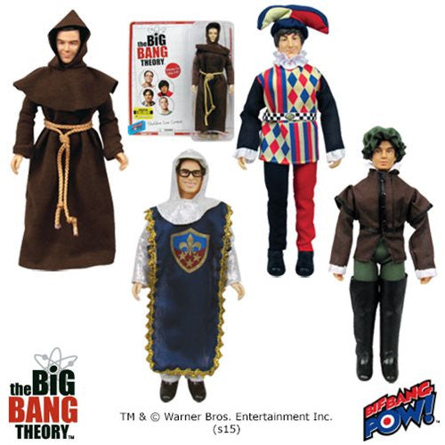 The Big Bang Theory Costumes 8-Inch Figures Case - Exclusive