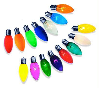 C9 Color Bulbs 7-Watt (25 Pack)