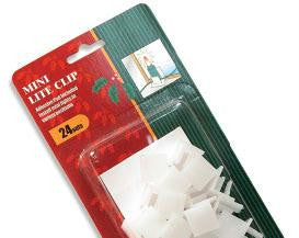 Mini Light Adhesive Clips (24 Pack)