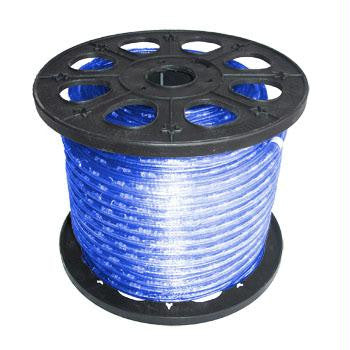 "150' 2-Wire 12-Volt 3-8"" Blue Rope Light Spool"