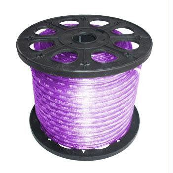 "150' 2-Wire 12-Volt 3-8"" Purple Rope Light Spool"